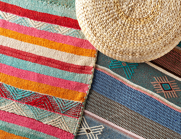 One-of-a-Kind Peruvian Heirloom Rugs at MYHABIT