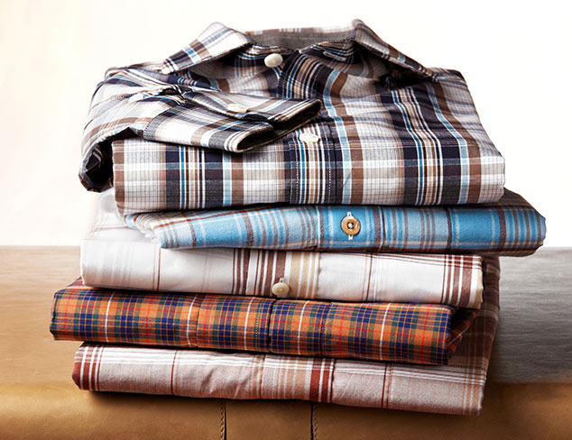 Play with Plaid: Up to 70% off Woven Shirts at MYHABIT