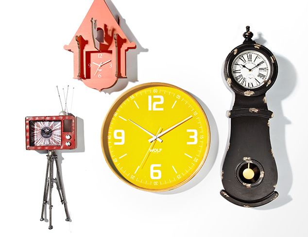 Right On Time: Clocks feat. Braun at MYHABIT