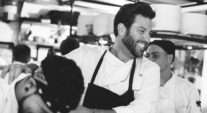 Scott Conant at Gilt