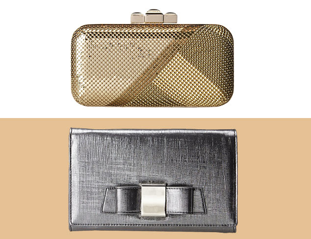 Shimmer & Shine: Metallic Handbags at MYHABIT
