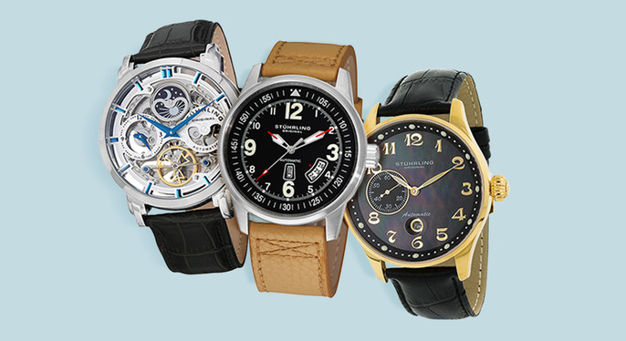 Stuhrling Watches at Gilt