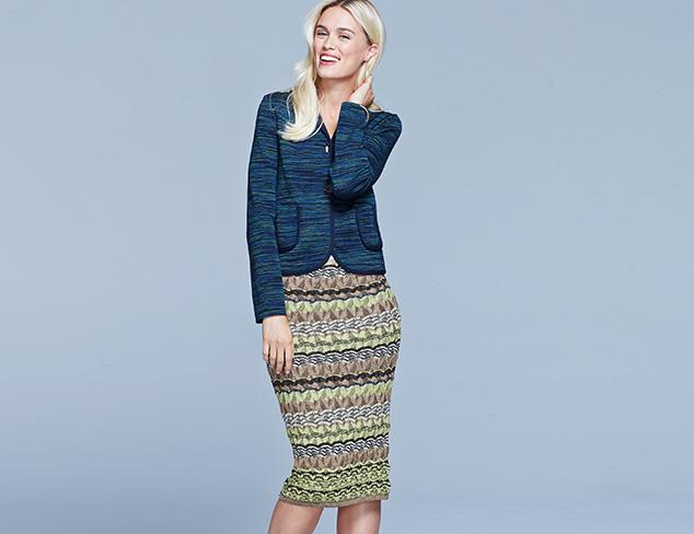 The Latest Length: Midi Skirts & Dresses at MYHABIT