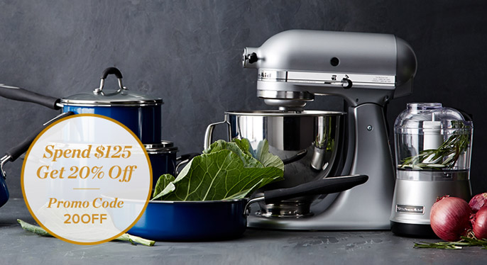 Up to 70% Off: Best of KitchenAid & Cuisinart at Gilt