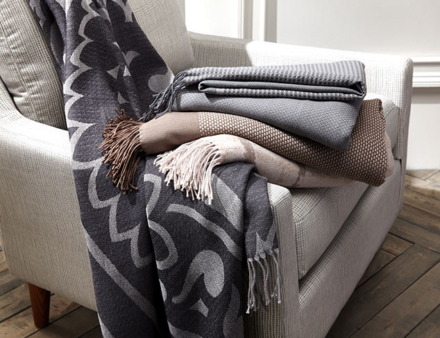 Up to 80% Off: Stylish Throws, Pillows & More at MYHABIT