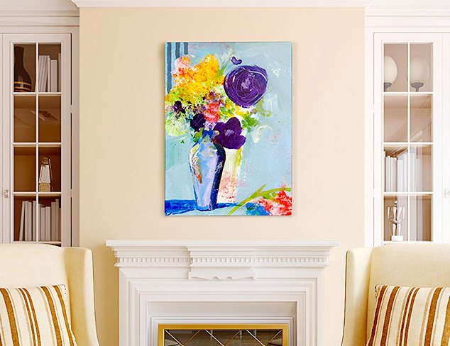 Vivid & Vibrant Artwork at MYHABIT