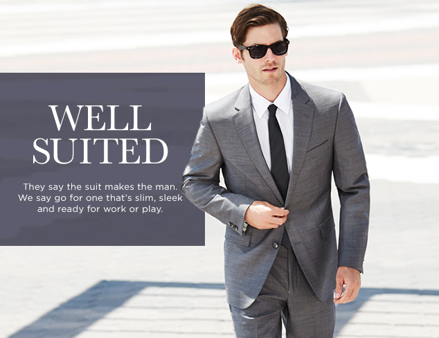Well Suited: Black & Charcoal Suits at MYHABIT