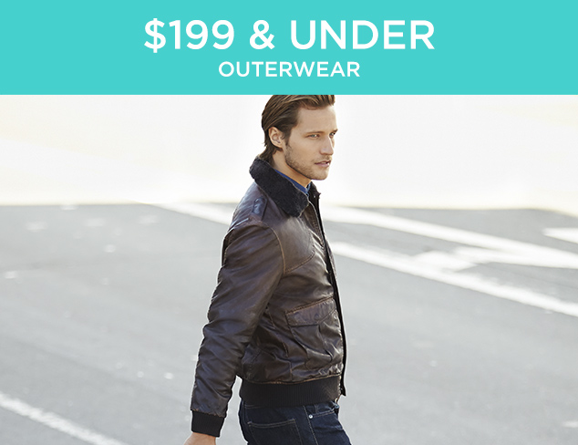 $199 & Under: Outerwear at MYHABIT