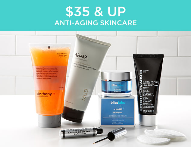 $35 & Up: Anti-Aging Skincare at MYHABIT