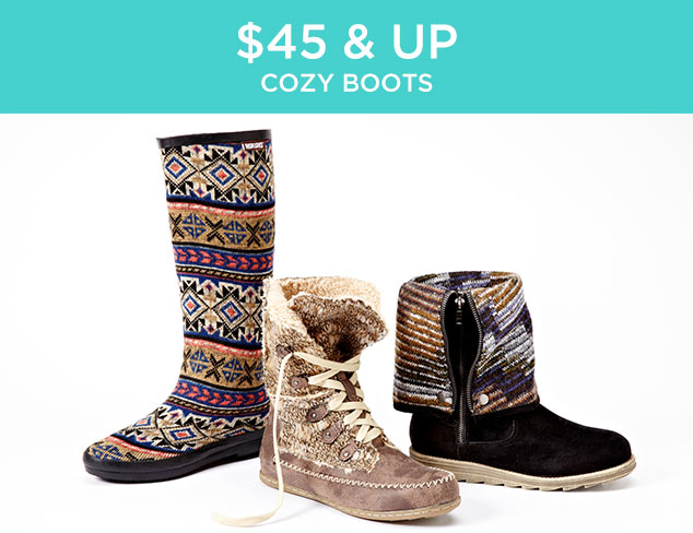 $45 & Up: Cozy Boots at MYHABIT