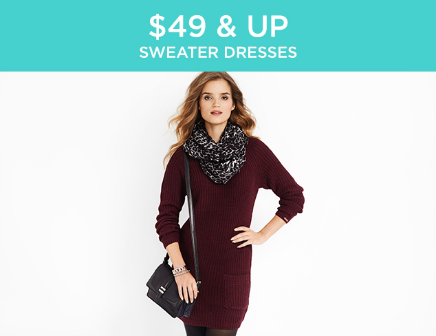 $49 & Up: Sweater Dresses at MYHABIT
