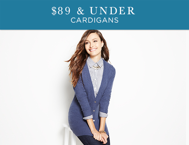 $89 & Under: Cardigans at MYHABIT