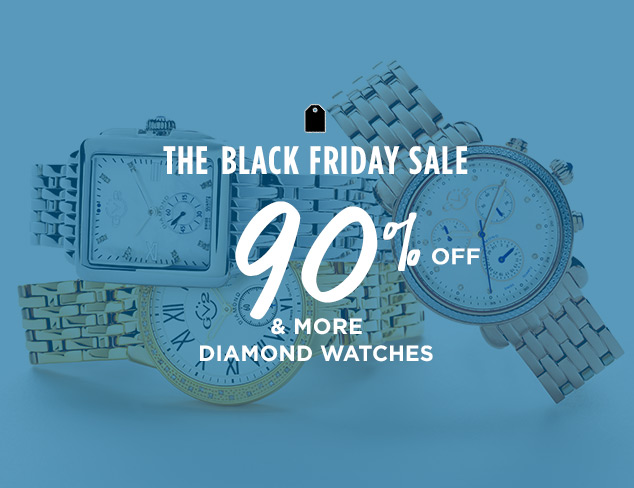 90% Off & More: Diamond Watches at MYHABIT