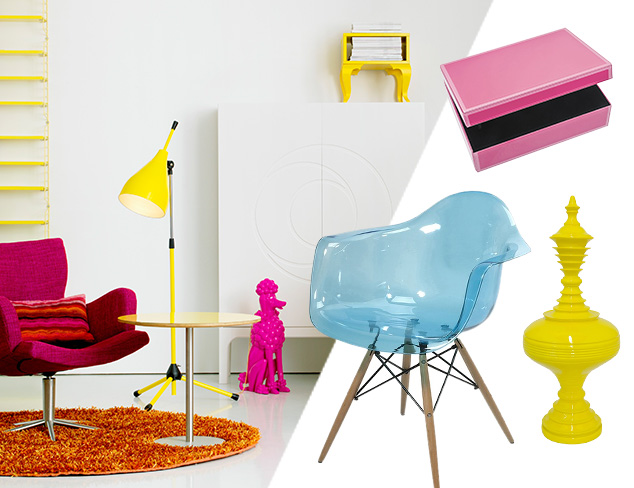 A Pop of Color for Every Room at MYHABIT