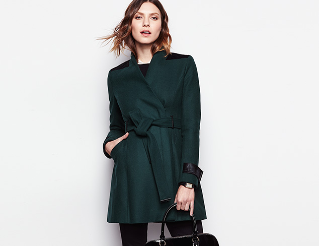Badgley Mischka Outerwear at MYHABIT