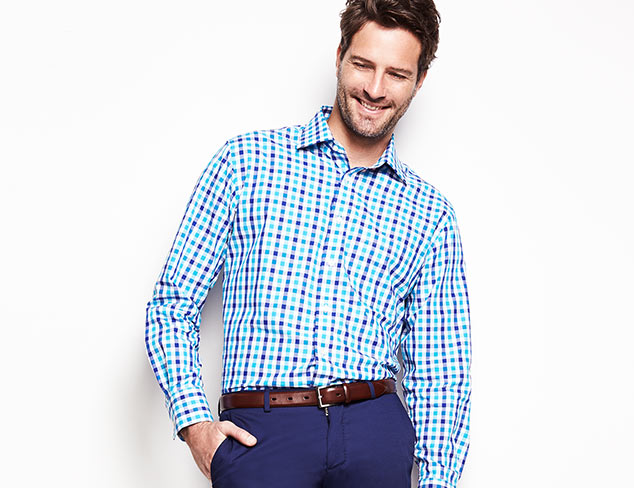 Be Bold: Dress Shirts feat. Aquaviva at MYHABIT