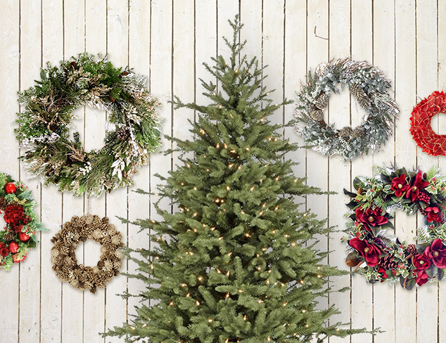 Beyond Evergreens: Trees, Wreaths & More at MYHABIT