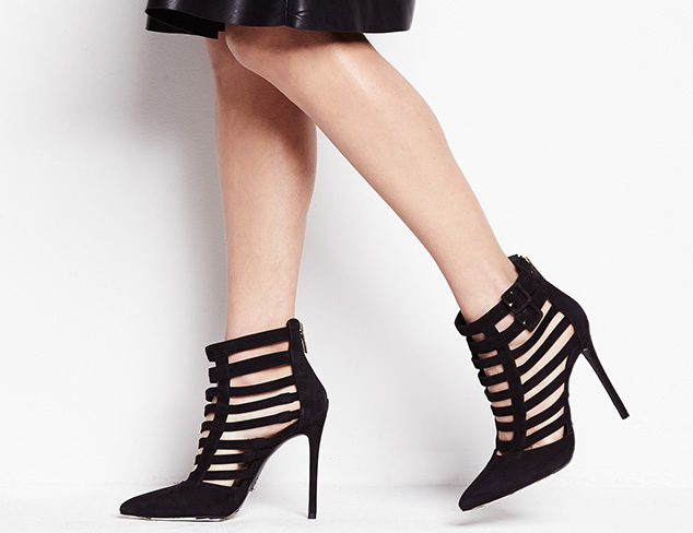 Caged & Laced-Up Shoes at MYHABIT