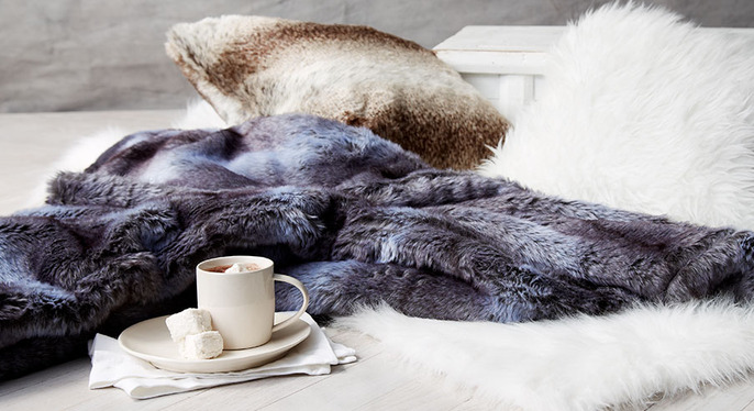 Faux Fur Feat. Montague & Capulet at Gilt