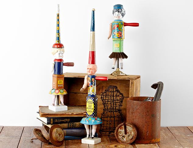 Found Object Sculptures By Primitive Twig at MYHABIT