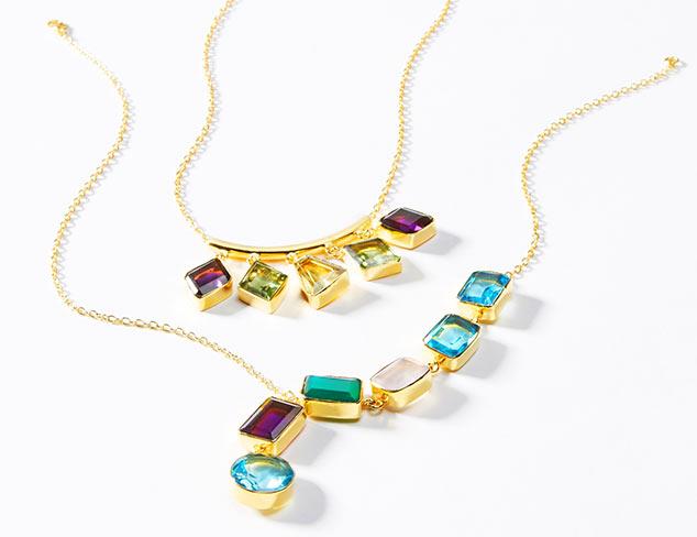 Gemstone Jewelry by Saachi at MYHABIT