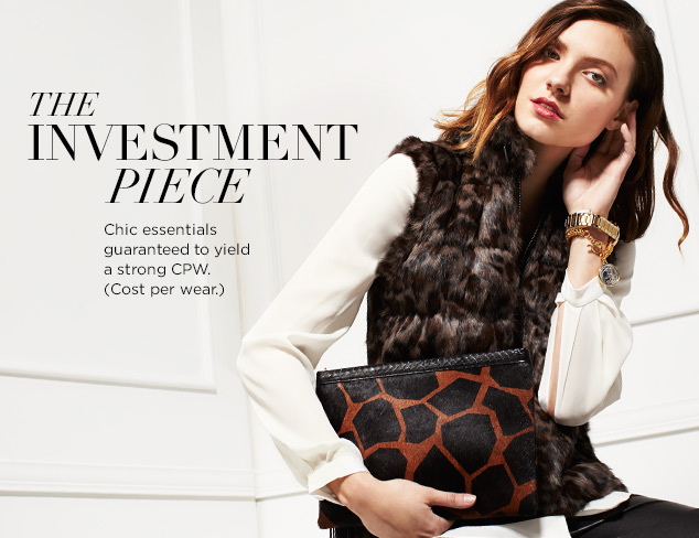 Investment Pieces: Luxe Details at MYHABIT