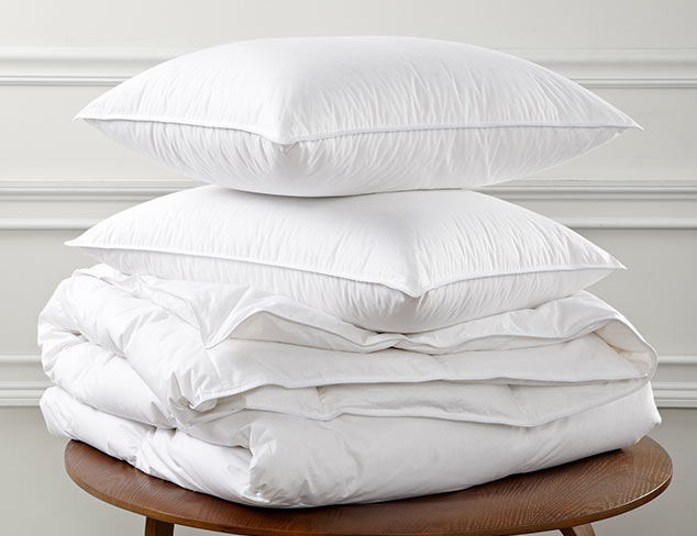 Luxury Down Bedding at MYHABIT