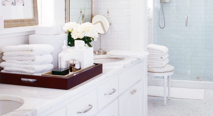 Prep for Guests: Bathroom at Gilt