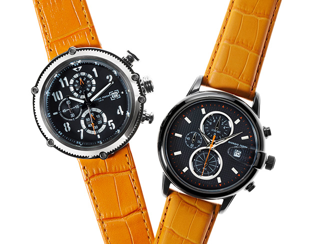 The Leather Strap Watch at MYHABIT