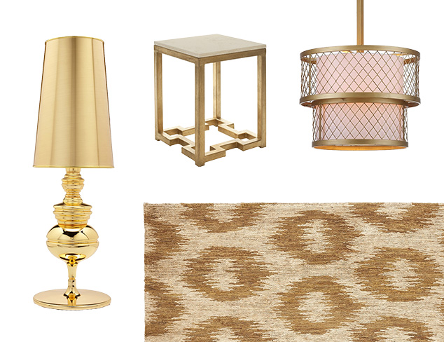 Trend Report: Touch of Gold at MYHABIT