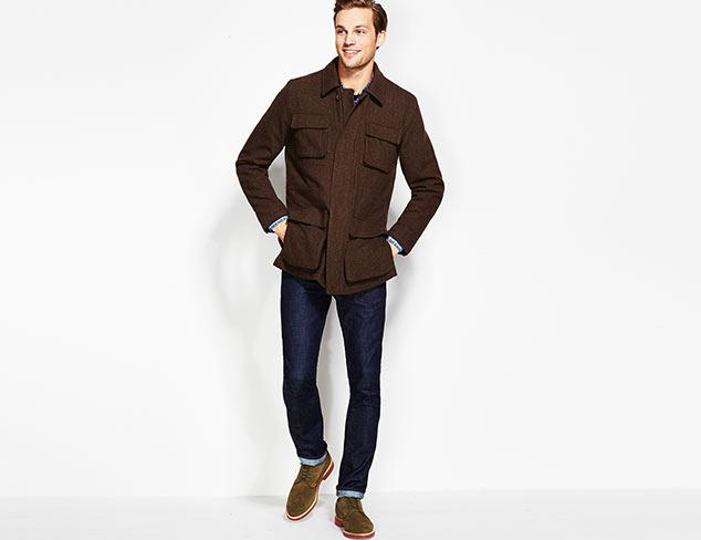 Up to 65% Off: Hickey Freeman Sportswear at MYHABIT