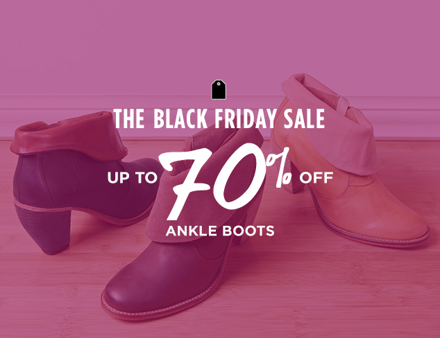 Up to 70% Off: Ankle Boots at MYHABIT