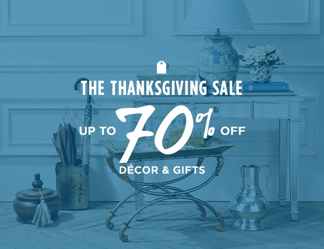 Up to 70% Off: Décor & Gifts at MYHABIT