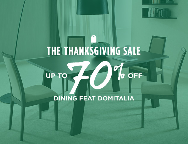 Up to 70% Off Dining feat Domitalia at MYHABIT