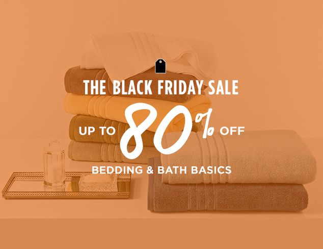 Up to 80% Off: Bedding & Bath Basics at MYHABIT