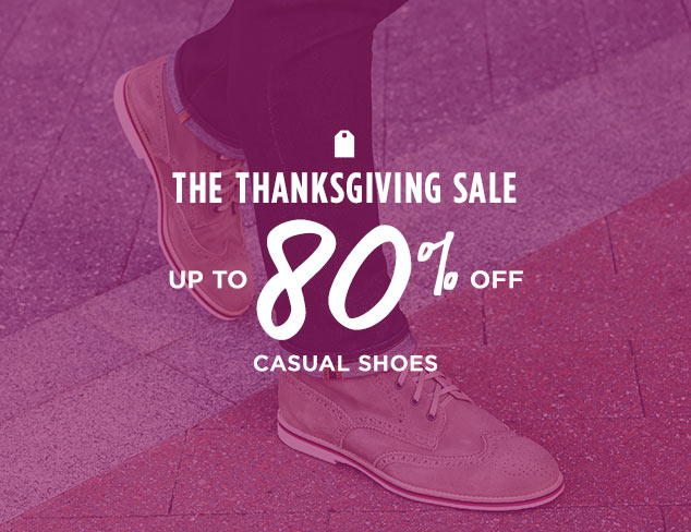 Up to 80% Off: Casual Shoes at MYHABIT
