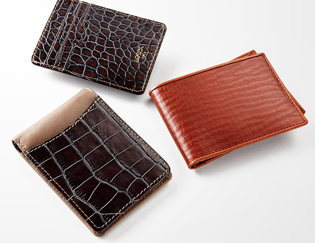 Up to 80% Off: Wallets feat. Bosca at MYHABIT