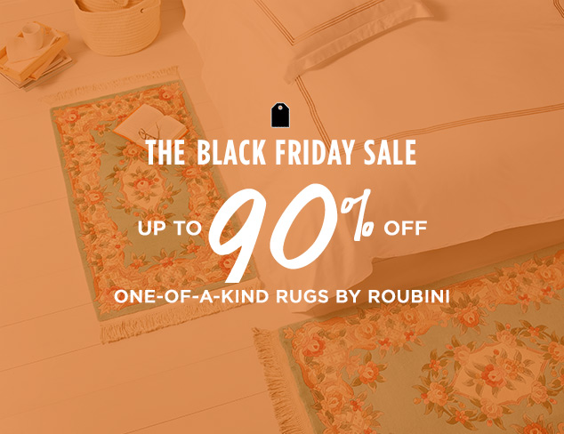 Up to 90% Off: One-of-a-Kind Rugs by Roubini at MYHABIT