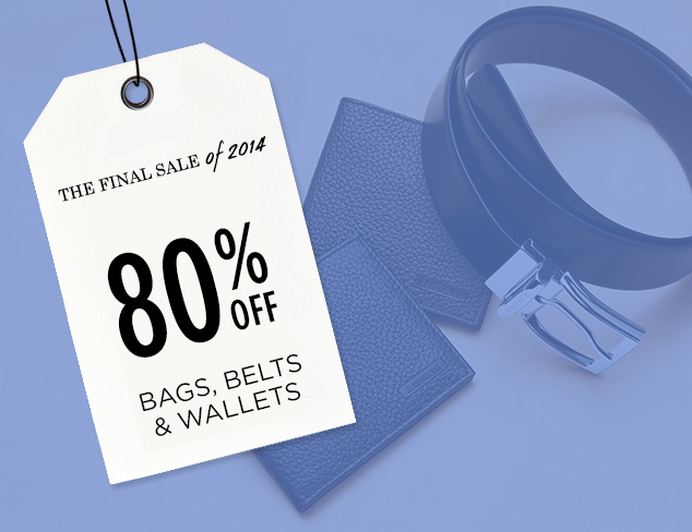 80% Off: Bags, Belts & Wallets at MYHABIT
