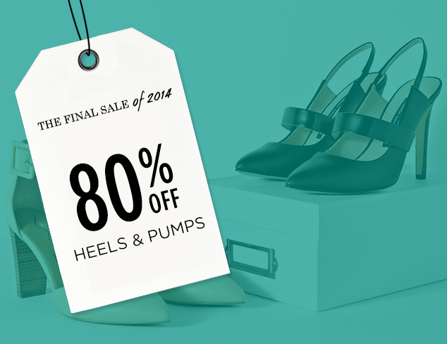 80% Off: Heels & Pumps at MYHABIT