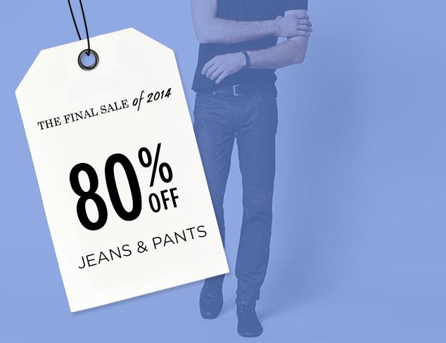 80% Off: Jeans & Pants at MYHABIT