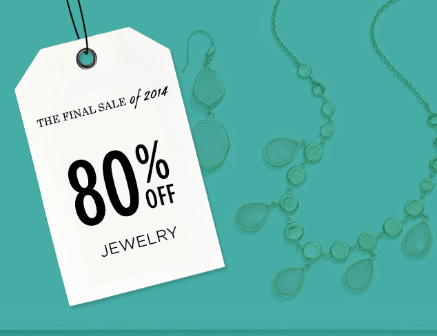 80% Off: Jewelry at MYHABIT