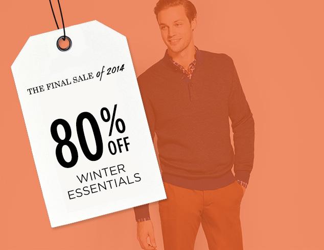 80% Off: Winter Essentials at MYHABIT