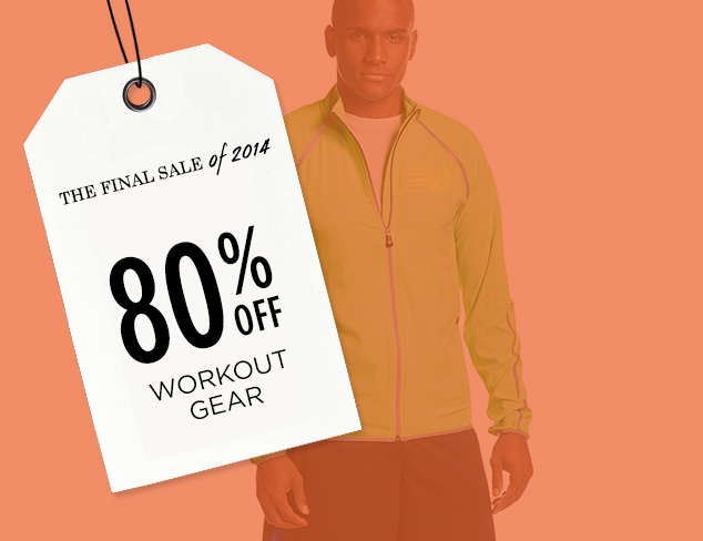 80% Off: Workout Gear at MYHABIT