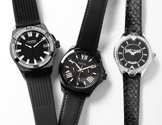 Back to Black: Watches at MYHABIT
