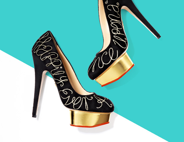 Charlotte Olympia Shoes at MYHABIT