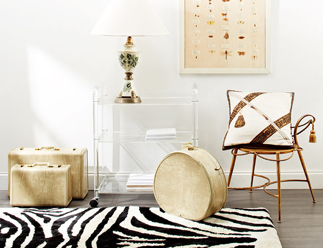 Chic & Unique: Vintage & Vintage-Inspired Décor at MYHABIT