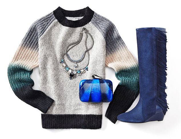 Color Theory: Winter Blues & Greys at MYHABIT