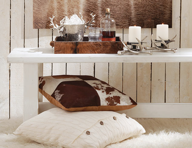 Cozy Chalet: Ski Lodge-Inspired Décor at MYHABIT