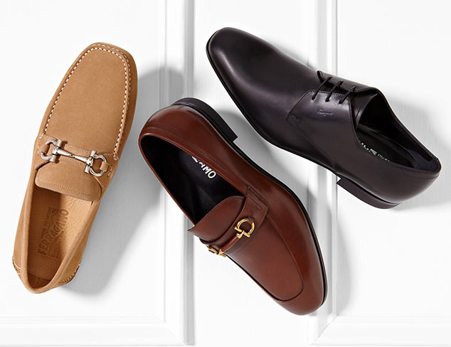 Designer Dress Shoes feat. Ferragamo at MYHABIT